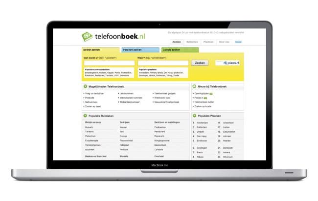 Vergroot je online vindbaarheid met een vermelding op Telefoonboek.nl!