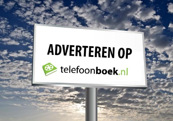 Adverteer eenvoudig en snel op Telefoonboek.nl!