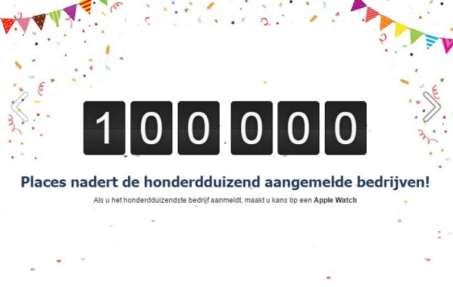 100.000 bedrijven aangemeld op Telefoonboek.nl