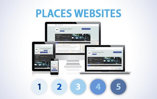 Wat kan je met je Places Website dashboard?