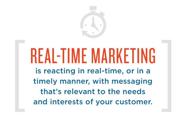 Realtime marketing: do or don't?