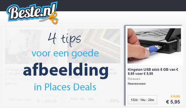 Places Deals: 4 tips voor een goede promotieafbeelding bij uw aanbieding