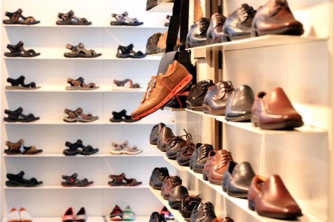 94% schoenenwinkels uitstekend bereikbaar