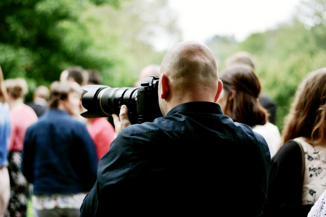Fotografen zijn telefonisch zeer goed bereikbaar