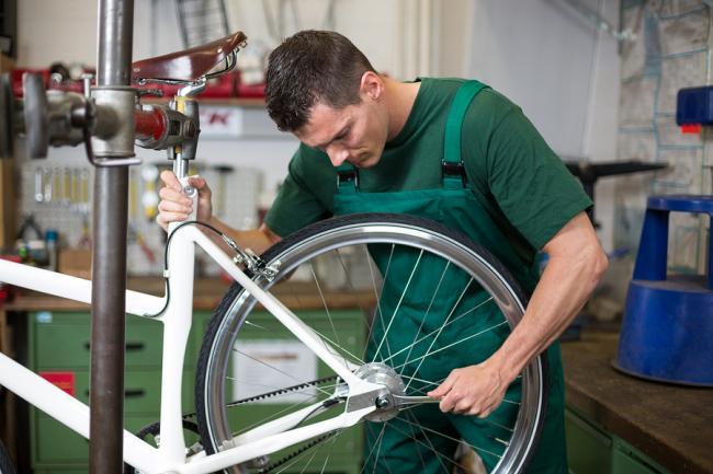 Helft fietsenmakers heeft geen eigen website