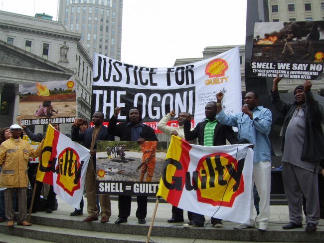 Shell betrokken bij moord en ander geweld in Nigeria