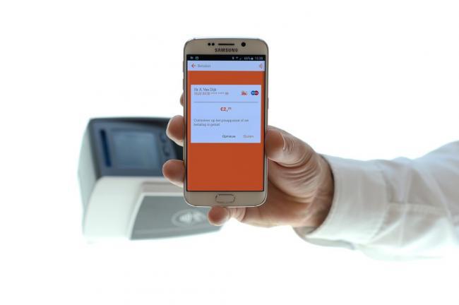 Contactloze smartphone-betalingen steeds populairder in Nederland