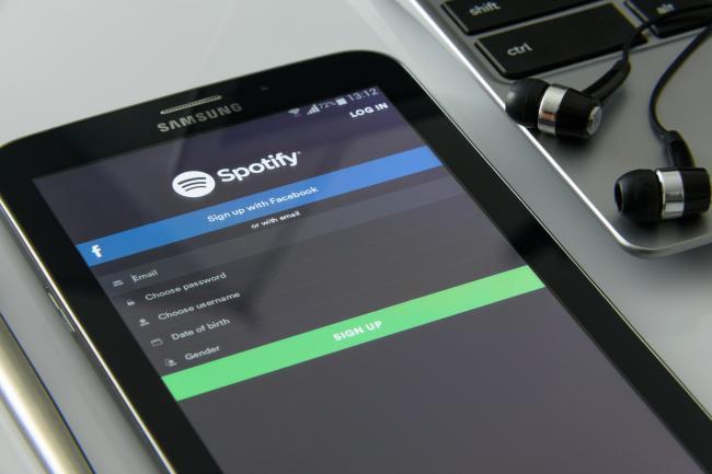 Muziekuitgever klaagt Spotfiy aan voor 1,6 miljard dollar