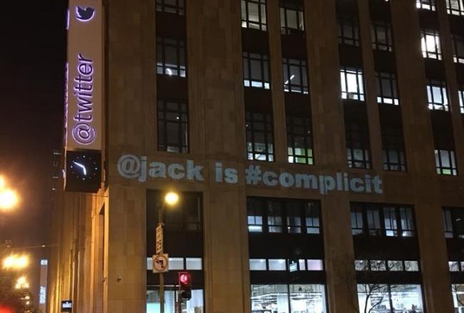 Twitter CEO Jack Dorsey onder vuur na Trump-tweet