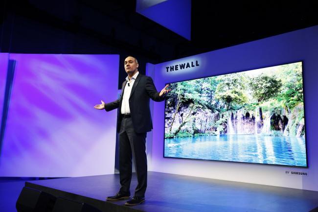 Samsung kondigt MicroLED televisie aan met 146-inch scherm