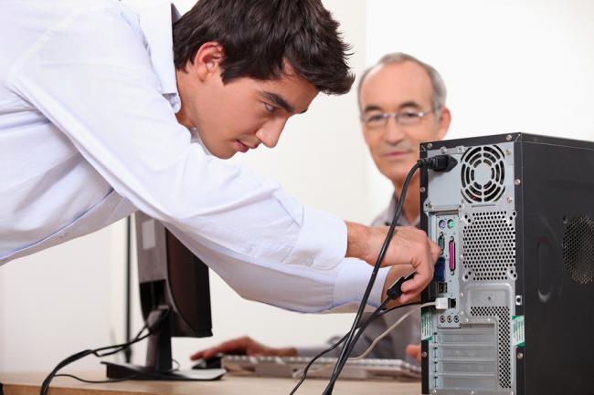 Onderzoek: een computerreparatie met een telefoontje geregeld