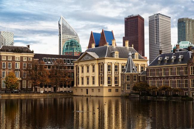 Meest voorkomende achternamen van bewoners van Den Haag