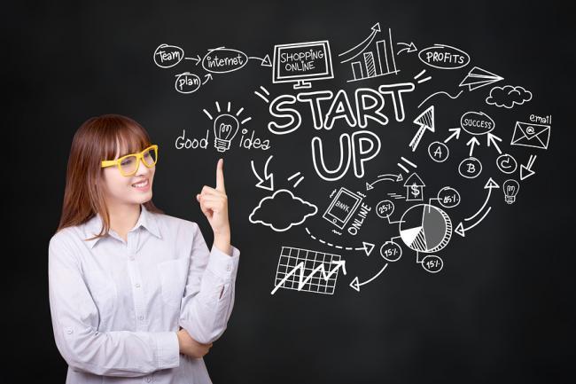 De vier meest inspirerende startups