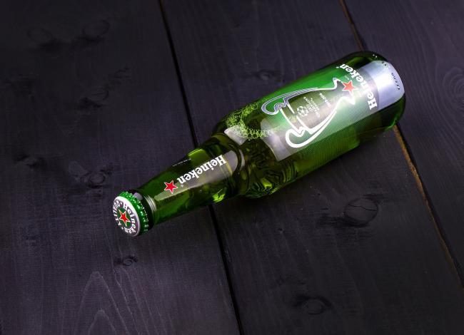Bierbrouwerij Heineken weer gegroeid in winst en omzet.