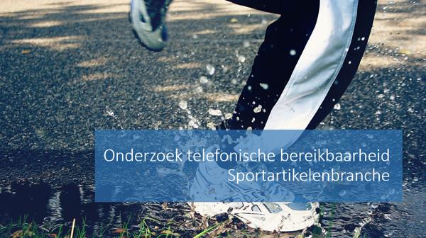 Worden de marathonlopers telefonisch te woord gestaan door sportwinkels?