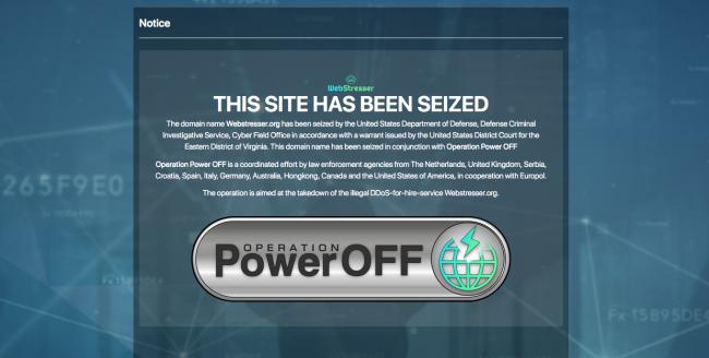 Politie haalt netwerk achter DDoS-aanvallen uit de lucht