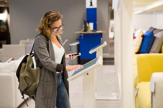 Telefonische bereikbaarheid van woonwinkels