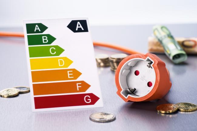 Verplicht energielabel C voor kantoorpanden.