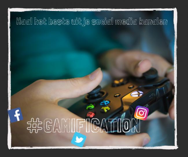 Social media: je kan er meer uit halen. Bijvoorbeeld door gamification.