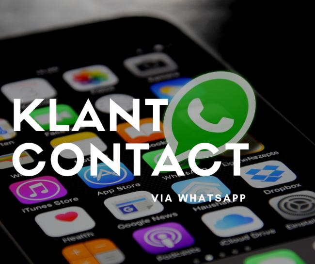 WhatsApp is een perfect communicatiekanaal voor klantcontact, iets voor jou?