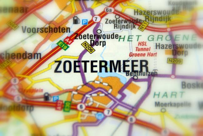 20 meest voorkomende achternamen van Zoetermeer