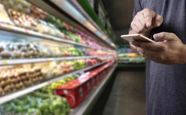 Supermarkt onderzoek