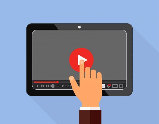 Opkomst authentieke niet-perfecte video