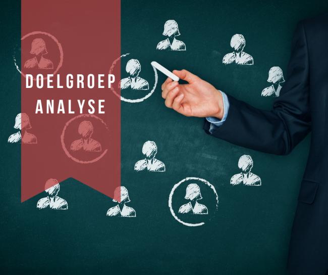 Een doelgroepanalyse is de basis van een goede ondernemingsstrategie