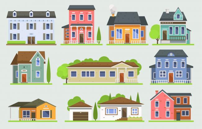 In Huizen verwijzen veel achternamen naar beroepen