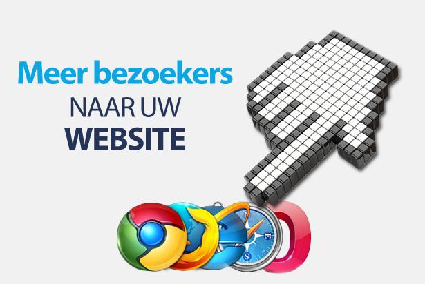 Tips om meer bezoekers naar uw website trekken