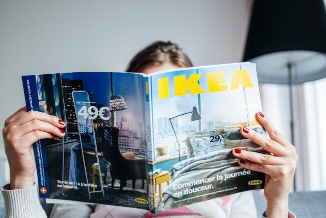 IKEA stopt in een groot deel van Nederland met verspreiding catalogus.