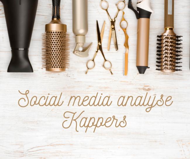 Hoe past u social media toe voor uw kapsalon? Leer van anderen!