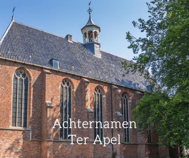 De meest voorkomende achternaam in Ter Apel is Bos, dat twee betekenissen heeft.