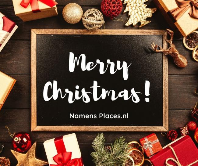 Places.nl wenst u fijne feestdagen en een voorspoedig 2020!