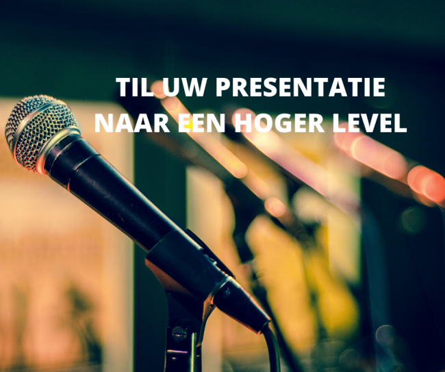 Til uw presentatie naar een hoger level met deze tips!