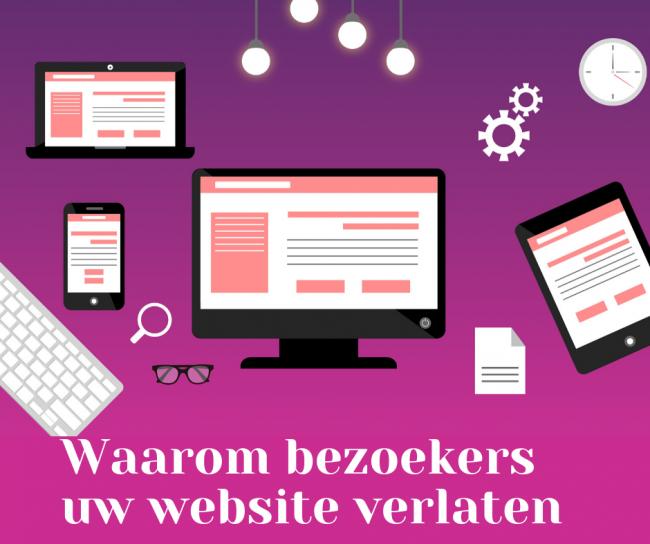 Uw website moet aantrekkelijk zijn voor de bezoekers, hoe pakt u dat aan?