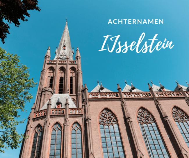 Waar komen de namen van de inwoners van IJsselstein vandaan?