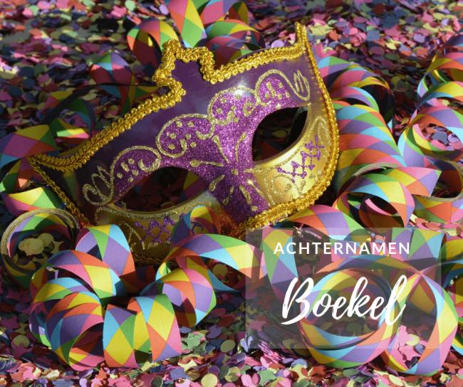 Lankveld, Ven en Elzen zijn meest voorkomende achternamen in Boekel.