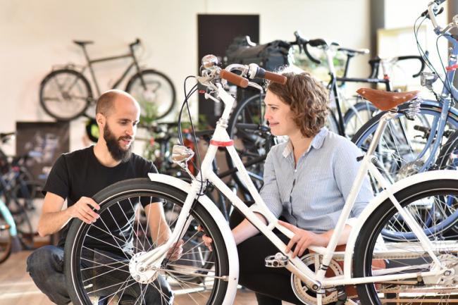Websites van fietsenwinkel nog lang niet mobielvriendelijk