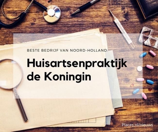 Deze huisartsenpraktijk is het beste bedrijf van Noord-Holland