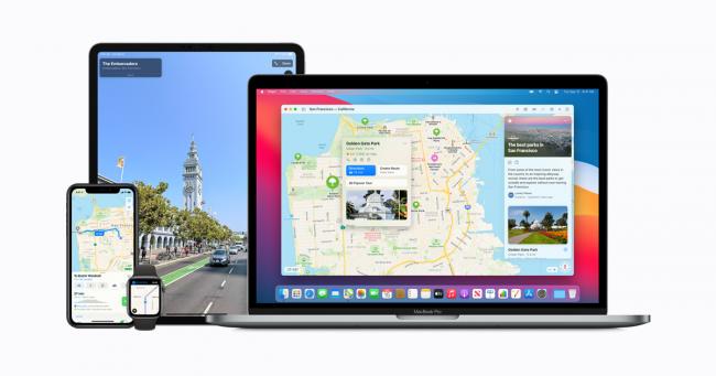 Places.nl helpt je met Apple Maps