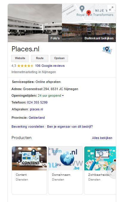 Verbeter je lokale vindbaarheid | Places.nl
