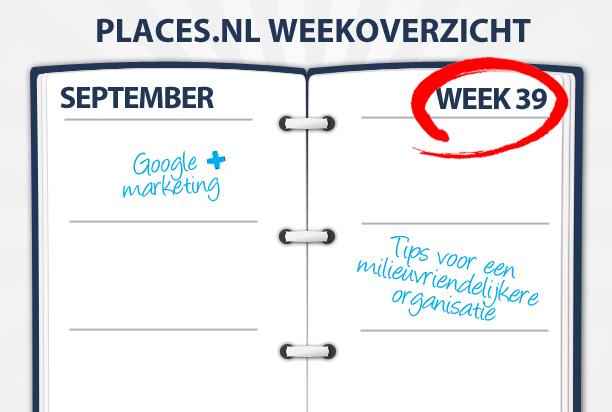 Week 39: Mobiel adverteren, een groen bedrijf en Google+