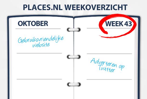 Week 43: website gebruiksvriendelijkheid, adverteren op Twitter en cybercrime