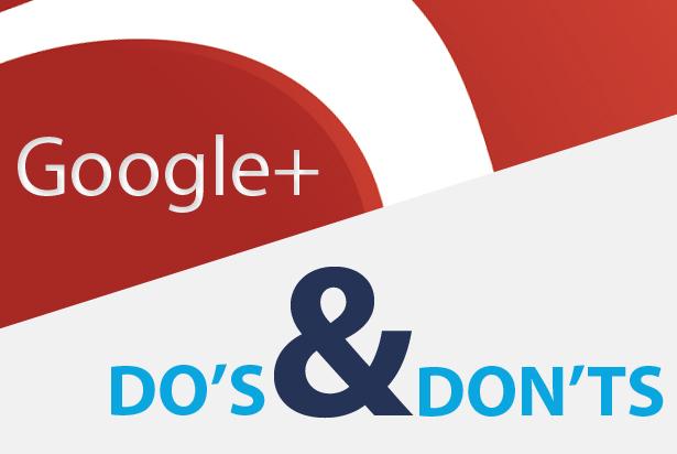 Do's & Don'ts voor ondernemers met Google+
