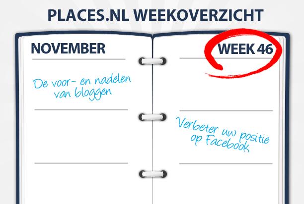 Week 46: Alles over bloggen en Instagram voor uw bedrijf