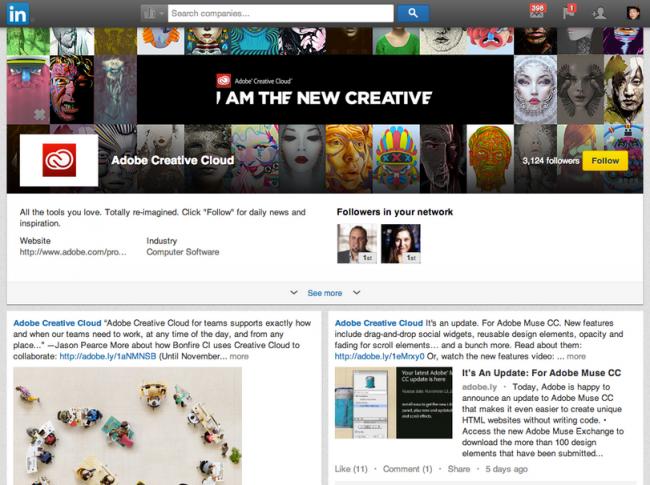 Uw bedrijf in de spotlights met LinkedIn Showcase Page