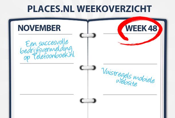 Week 48: Vuistregels voor een mobiele website en werken in de cloud
