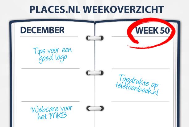Week 50: Webcare voor uw MKB, uw eigen bedrijfslogo ontwerpen en topdrukte op Telefoonboek.nl