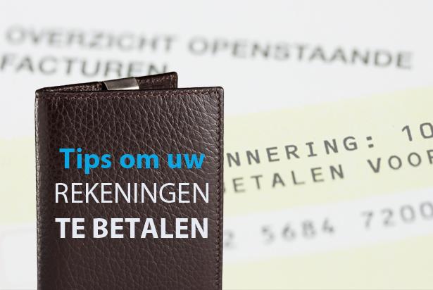 Tijdig rekeningen betalen: enkele handige tips